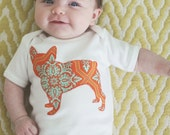 French Bulldog bodysuit or toddler t-shirt - You pick the fabric