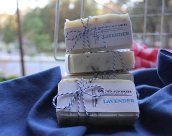 Handmade Cold-Processed Soap - Select Your Scent