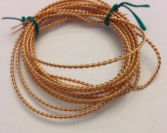 Phosphor Bronze Wire Twisted, 7 .5 Feet, 20 Gauge