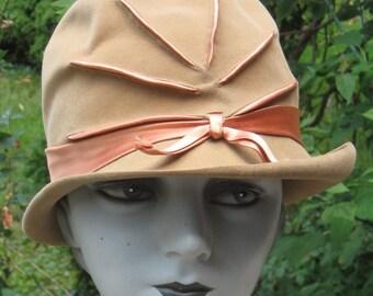 Fab Vintage 1960s Cloche Hat Made In Switzerland Sporting Swiss