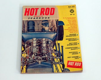 Hot Rod Magazine Yearbook 1962 No. 2 Rat Rot Automobile