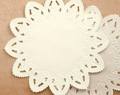 20 Star Lace Paper Doilies (8in)