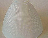 Vintage Milk Glass Lamp Shade