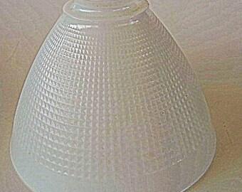 Vintage Milk Glass Lamp Shade