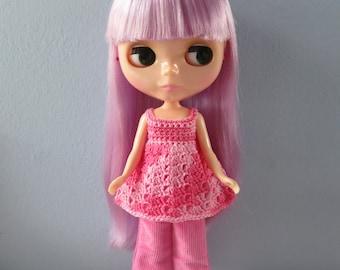 Blythe Crochet Top & Cord Pants Set