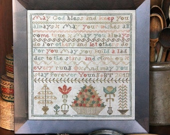 Forever Young : Cross Stitch Pattern by Heartstring Samplery