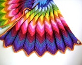 Crochet in Technicolor - Chevron Blanket Pattern - First in a Series of Four -  Crochet Your Own Blanket - Easy Pattern
