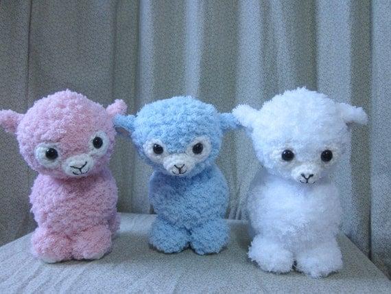 Amigurumi Crochet Lamb : Crochet Amigurumi Lamb