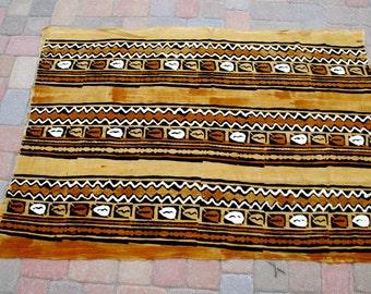 """African Mud Cloth 45""""x70"""""""