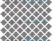 Mini Moroccan Stencil -  6x6