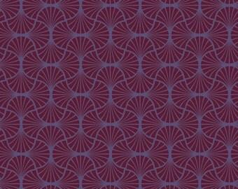 Joel Dewberry Heirloom- JD54 Empire Weave Garnet