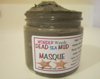 DEAD Sea MUD Masque, All NATURAL, Imported from Israel, Exfoliates and Moisturizes