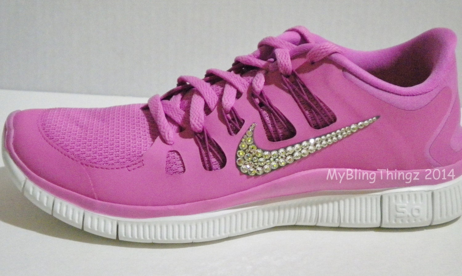 nike free run 5 0 shoes pretty pink bedazzled with 100