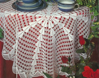Crocheted Doily - Century free shipping