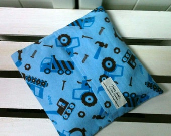 Kids Boo Boo packs/ Hot and Cold packs/ microwave or freezer packs in blue trucks