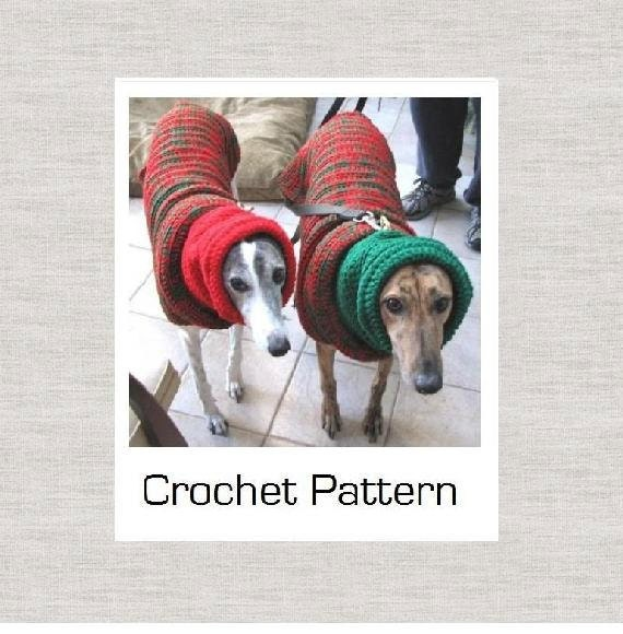 Greyhound Crochet Pattern