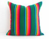 Tribal Pillow Cover,Colorful Pillow Covers,Bohemian Decor, Boho Bedding, Mexican Cushion,Tribal pillowcase, Cinco de Mayo, Mexico Home decor