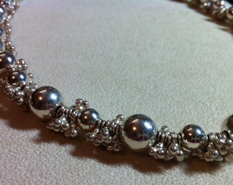 Thai and Sterling necklace