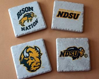Coasters - NDSU - Bison - North Dakota State University - Bison Nation