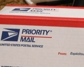 Priority Mail Upgrade,Us Mail Only