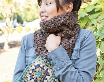 Nacho Granny's Scarf - Crochet PATTERN / PDF