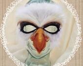 Feather Bald Eagle Mask
