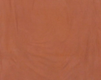 242 - Rust hand dyed cotton fabric