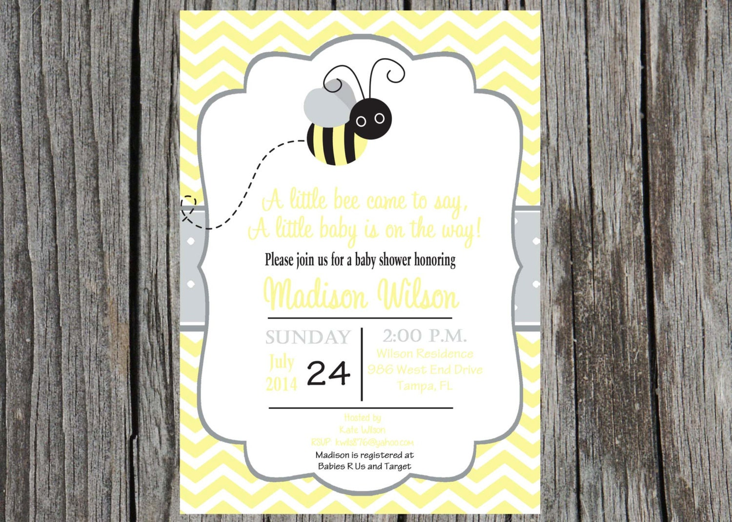 bee baby shower invitation bumble bee baby by printyourevent