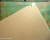 "12.75 x 15 Recycled Rigid Mailers: 10 kraft rigid mailers, for 11x14 photos or prints, eco-friendly, kraft brown, 12 3/4 x 15"" (324 x 381mm)"
