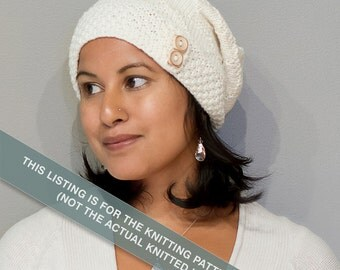 Dionne's Slouch Hat Knitting Pattern