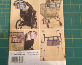 Simplicity Shopping Cart and Stroller Organizer Pattern #2664