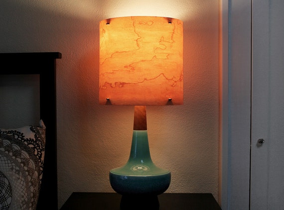 On Sale Universal 11 Real Wood Veneer Lampshade