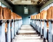 Abandoned Train Car 5x7 Inch Photographic Print