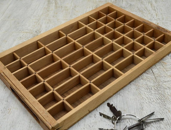 Small Letterpress Drawer - shadowbox - Typeset Tray