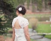 IVORY Wedding Hair Flower, Ivory Wedding Hair Flower Clip, Ivory Hair Flower, Ivory Accessories, Ivory Weddings, Ivory Bridal Hair