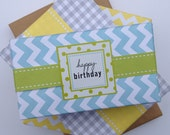 "1"" Stitch Paper Ribbon in Color of Your Choice"