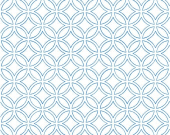 Vinyl wallpaper. Self-adhesive -blue (RAN)