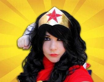 Wonder Woman - Accessory Tiara --- Ready To Ship