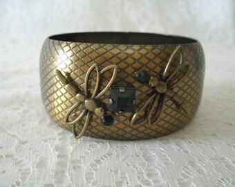 Dragonfly Bracelet, victorian jewelry art nouveau jewelry art deco jewelry gothic steampunk medieval renaissance edwardian neo victorian