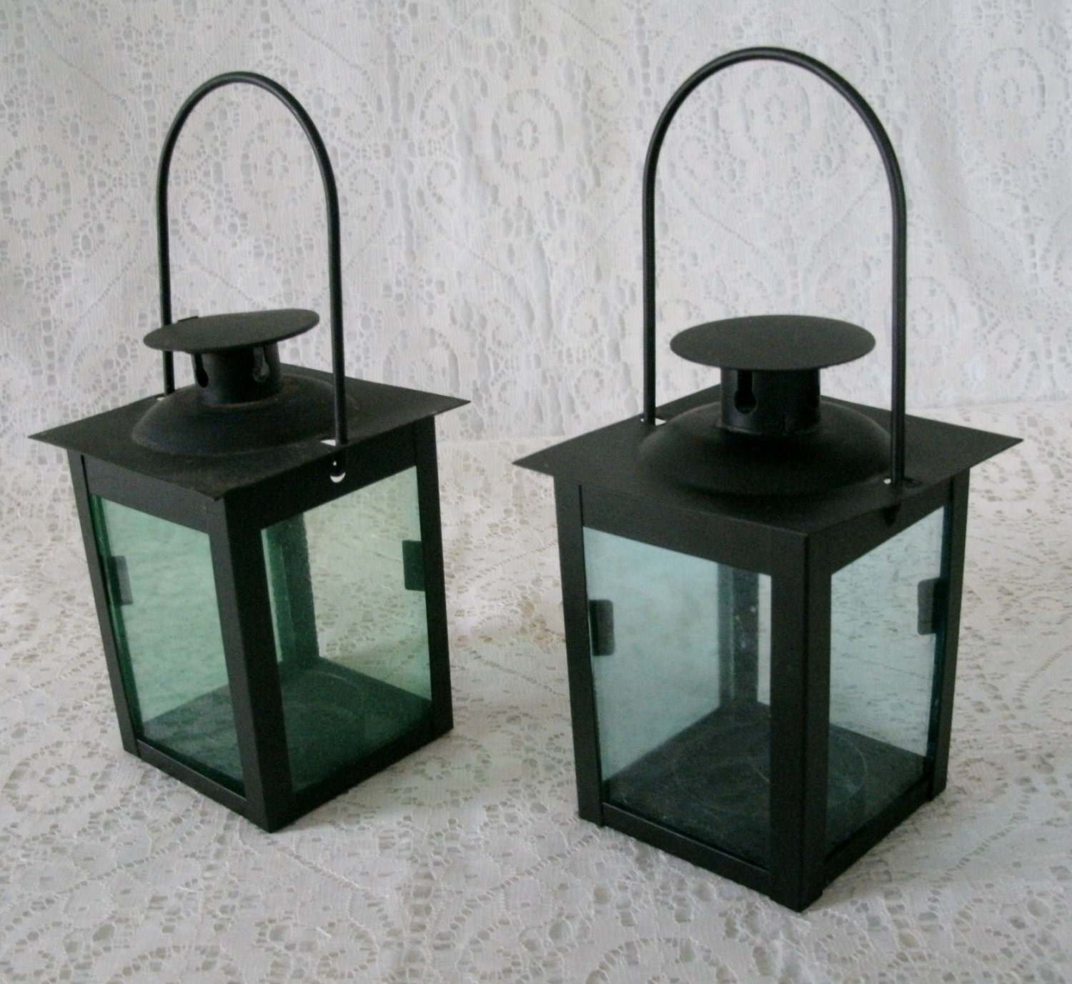 Vintage Metal Candle Holders home decor victorian by