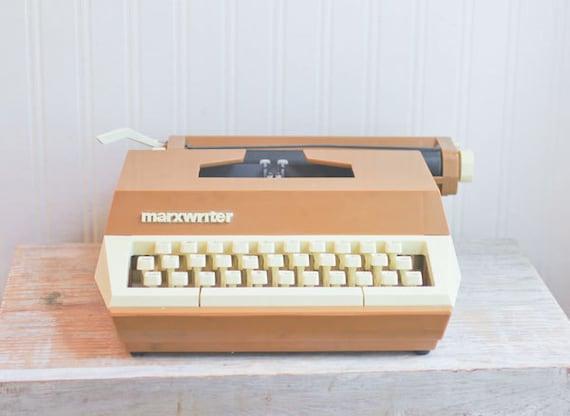 Marxwriter Typewriter Kids Typewriter Vintage Typewriter