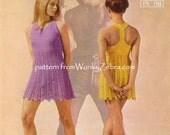 Tback Dress Crochet Pattern PDF 654 from WonkyZebra