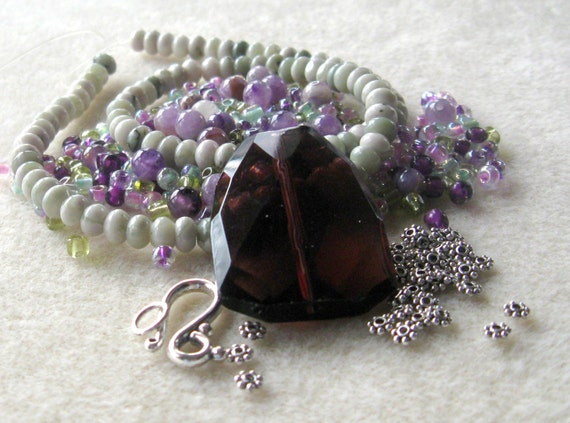 Amethyst DIY Jewelry Kit