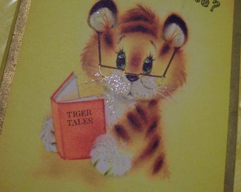 adorable tiger tales card