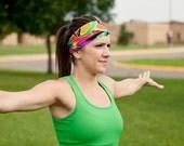 Workout Headband | Fitness Headband | Yoga Headband | Performance Headband | Spandex Headband |