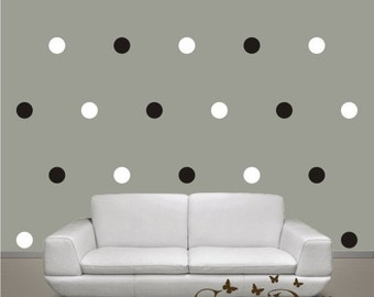 Large Size Polka Dots, Vinyl wall decals stickers