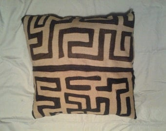 Kuba Cloth Pillow... Large