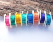 Colored Artistic Wire 18 gauge Various Colors