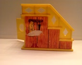 Vintage Fisher Price Little People Play Family House Staircase Stairs