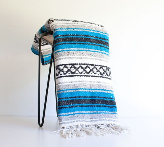 Vintage Mexican Blanket 39